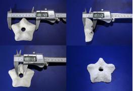 Астеринка с отверстием-Т 8 см